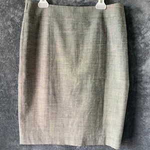 Halogen Pencil Skirt Grey